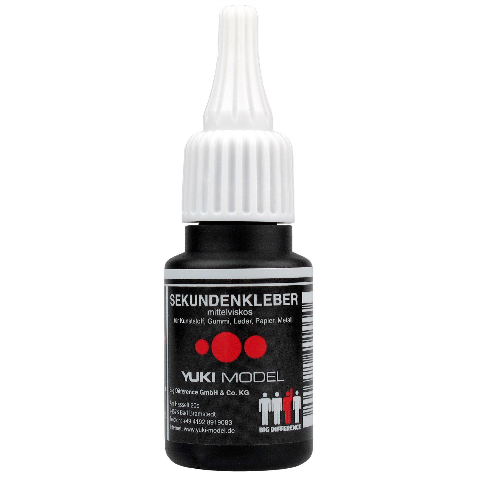 Sekundenkleber Cyanacrylat Superkleber 20g UV Protect Flasche dünnflüssig wasserfest schnell trocken