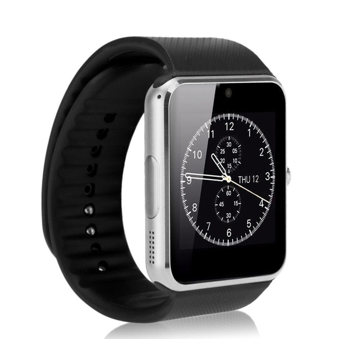 Smartwatch Bluetooth Armband Uhr - silber