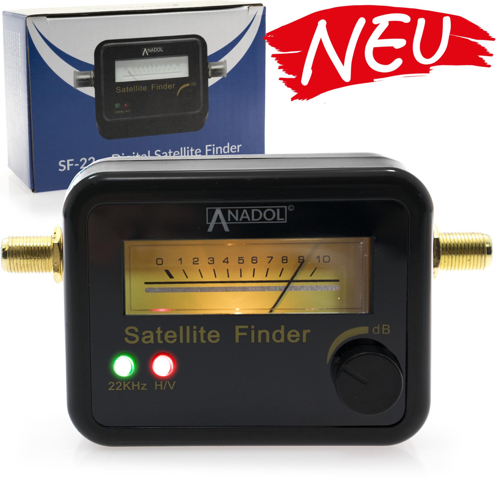 Anadol SF33 SATFINDER schwarz