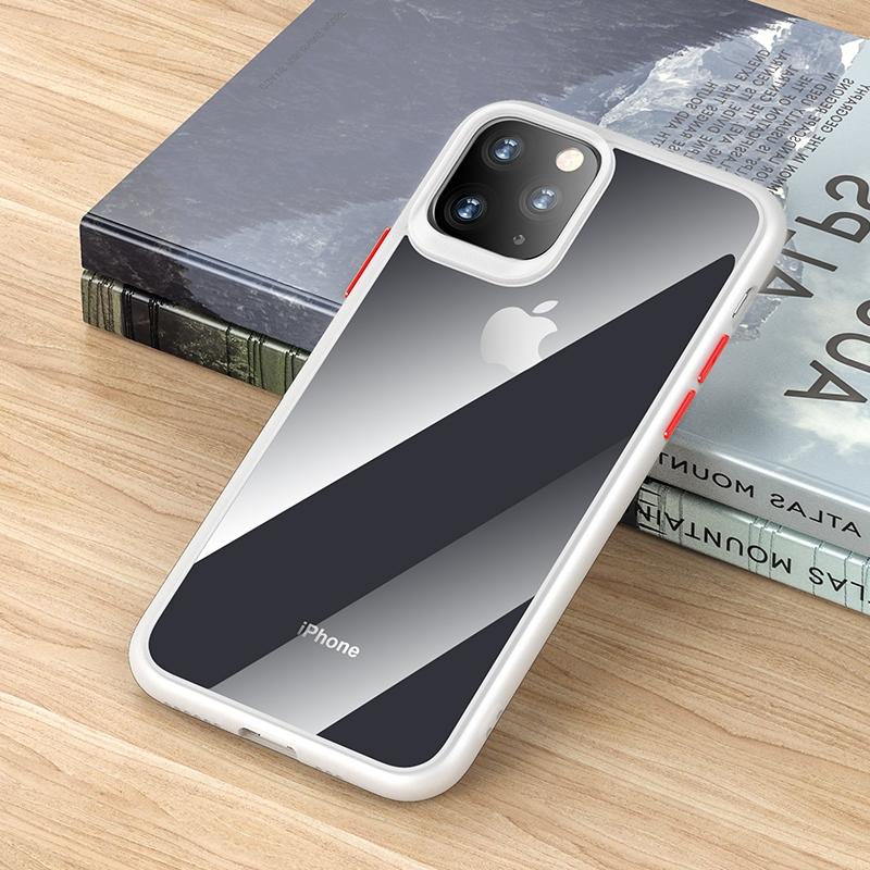 iPhone 11 ROCK Guard Pro Series Shockproof TPU Schutzhülle (weiß)