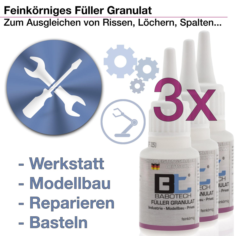 3 x Filler | Standard-Verschluss | 20g