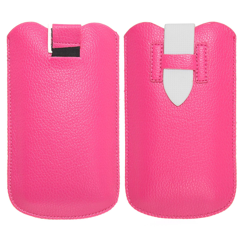 Handy Etui in pink für Apple und Samsung