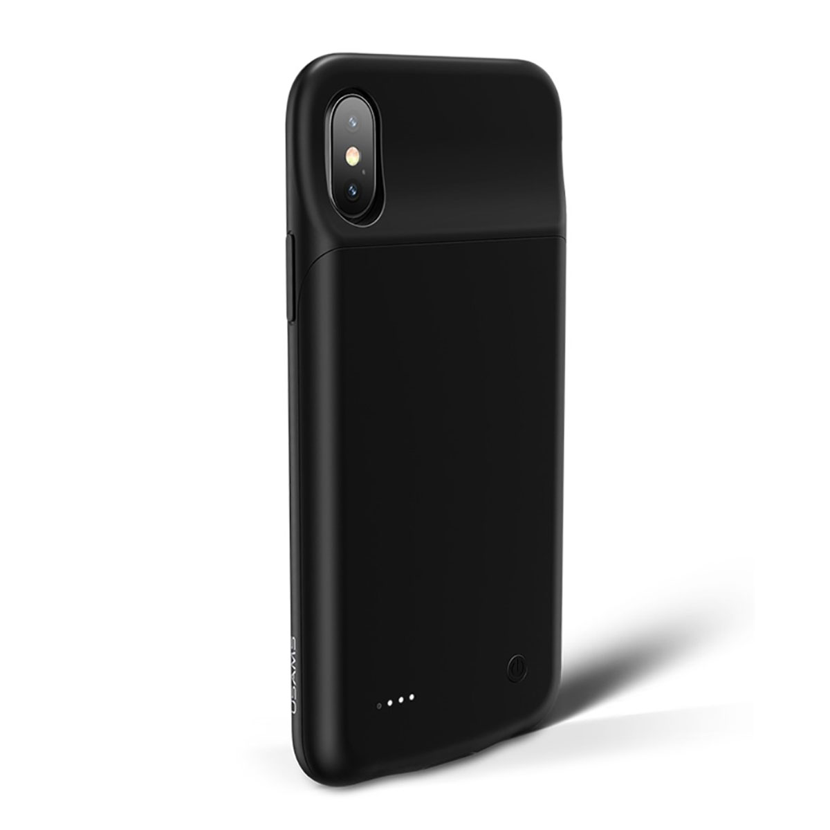 Batterie Extern Akku Case Hülle für iPhone X 3200mAh - schwarz