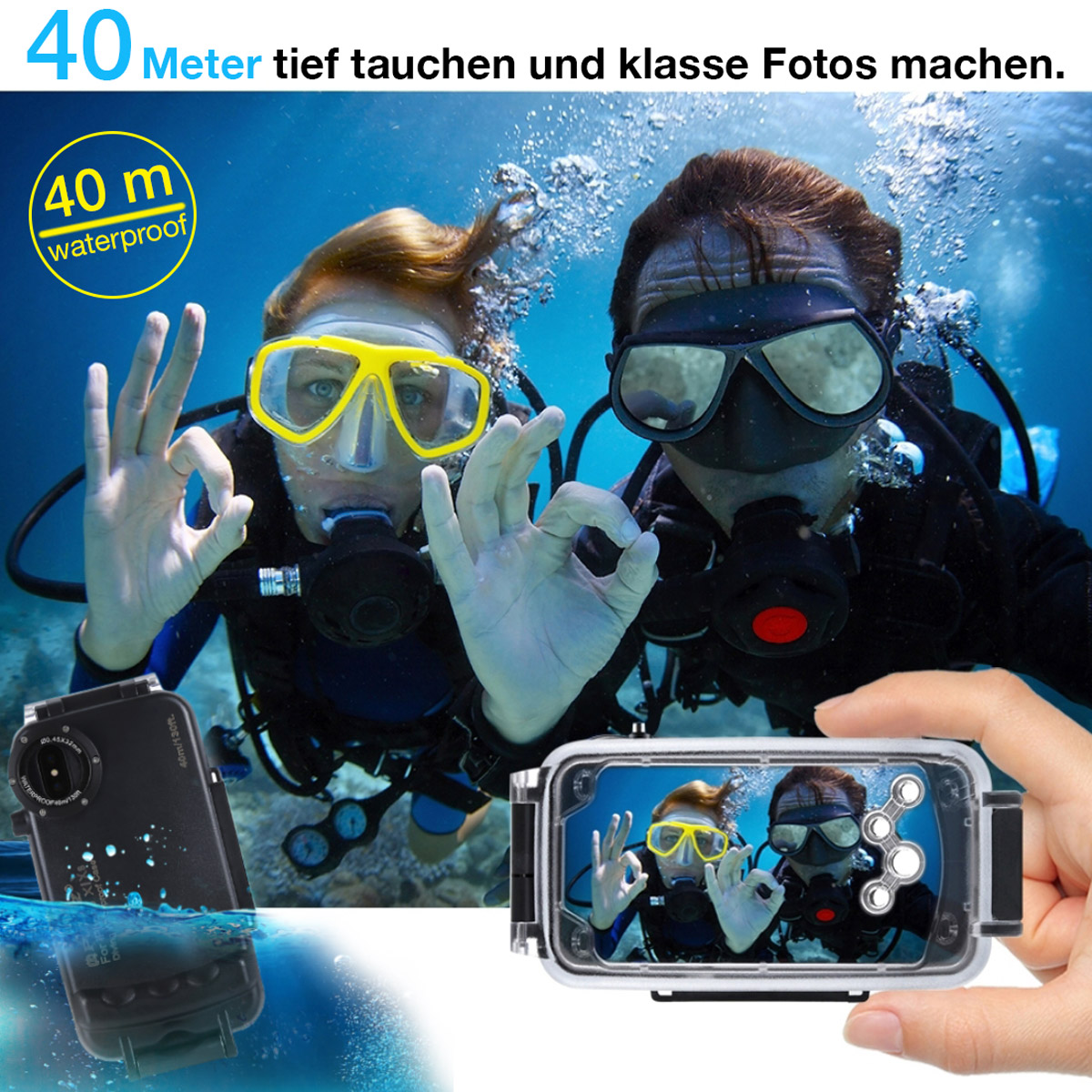 HAWEEL® Wasserfeste Schutzhülle - Phone X/ Xs