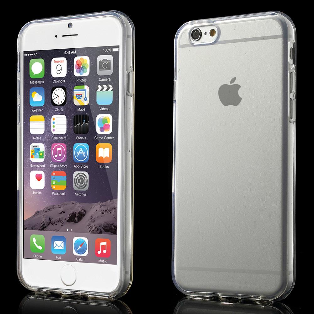 iPhone 6 stabile TPU Hülle glänzend  -transparent Farbauswahl