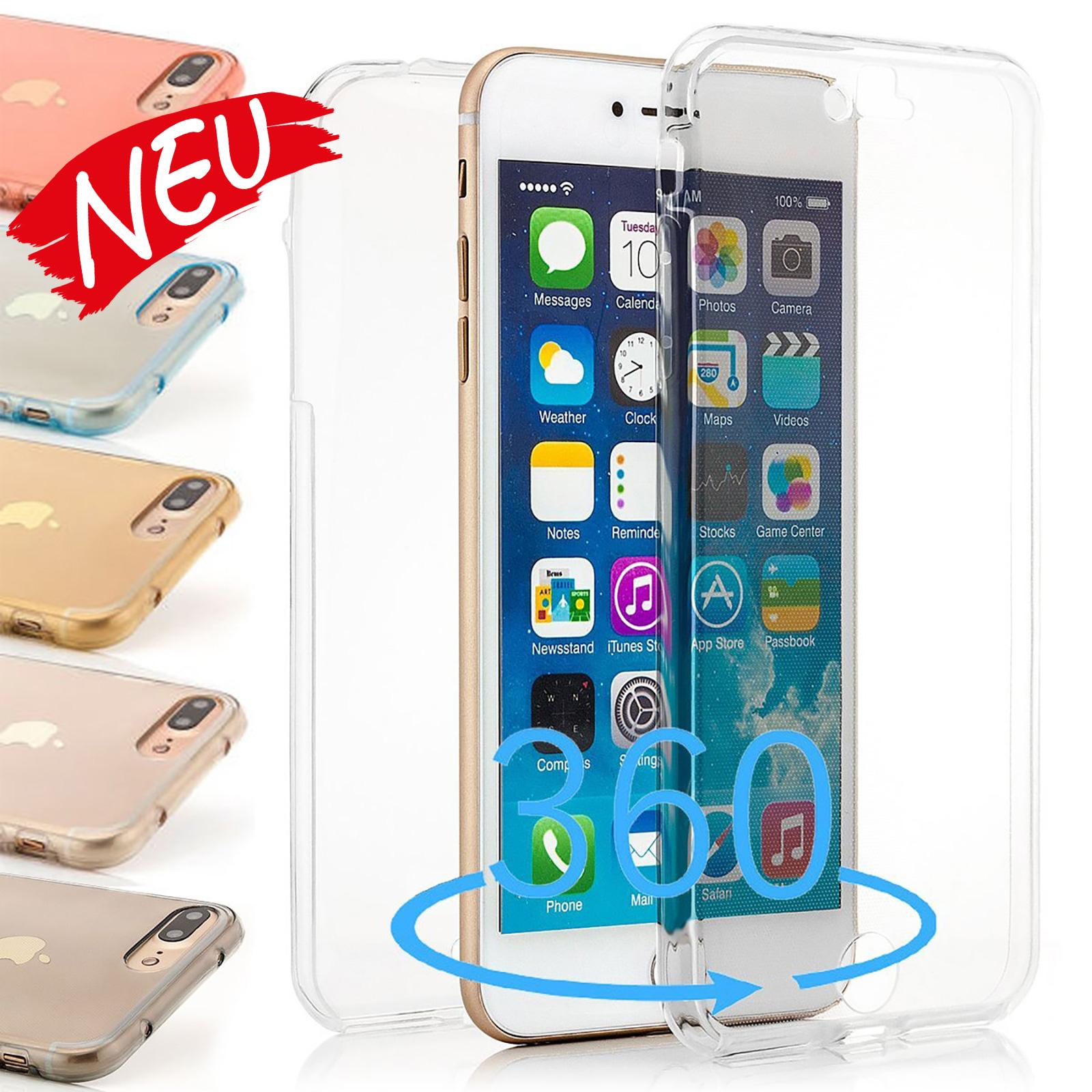 dünne TPU Silikon Schutzhülle für iPhone  - transparent