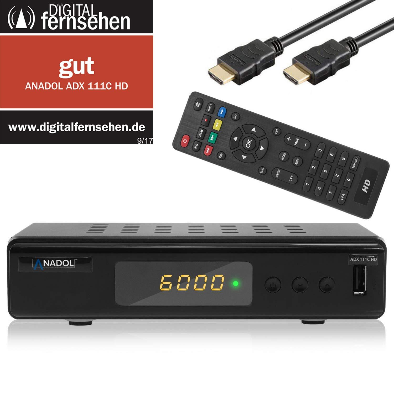 Anadol ADX 111c HD 1080p Kabel DVB-C2 Receiver