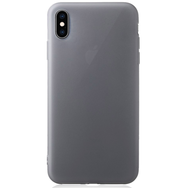 Apple iPhone Xs Max TPU Schutzhülle Soft Touch – transparent