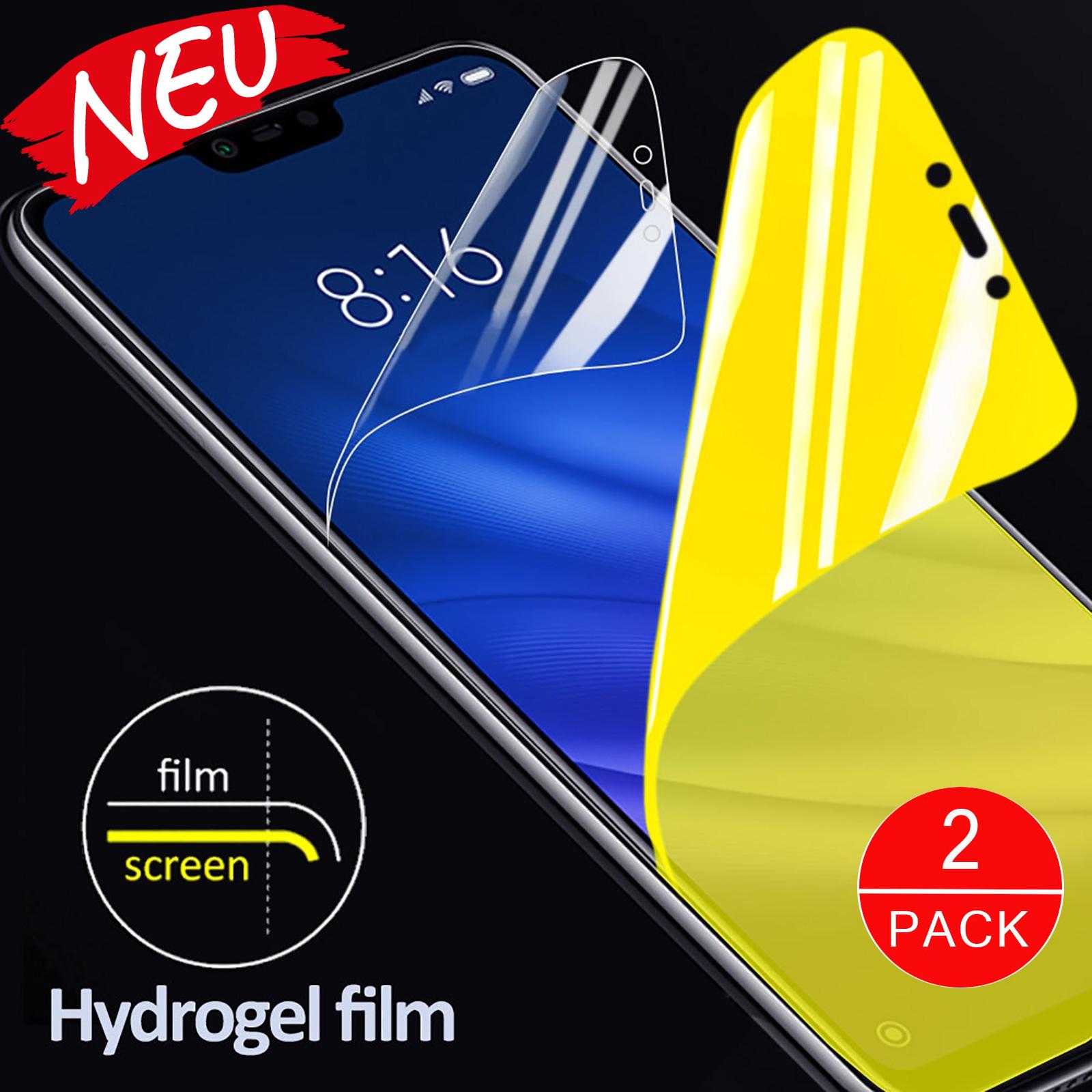 Hydrogel Schutzfolie Displayschutz Bildschirmschutz iPhone XS Max