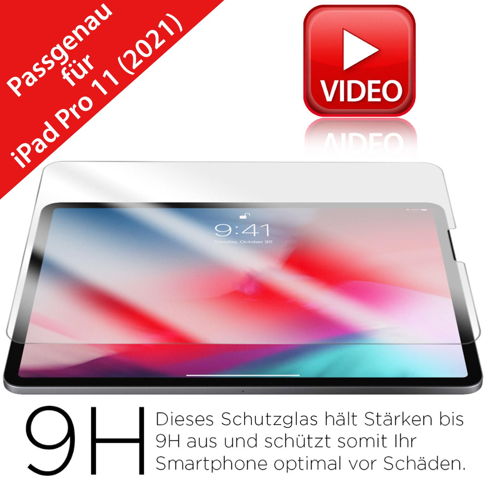 iPad Pro 11 Inch Schutzglas 2021