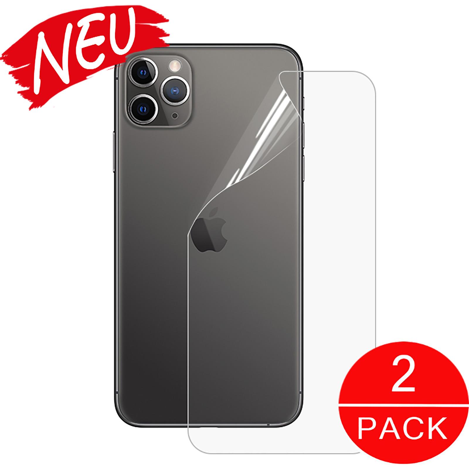 Hydrogel Schutzfolie Handy Rückseite Backcover iPhone11 Pro Max