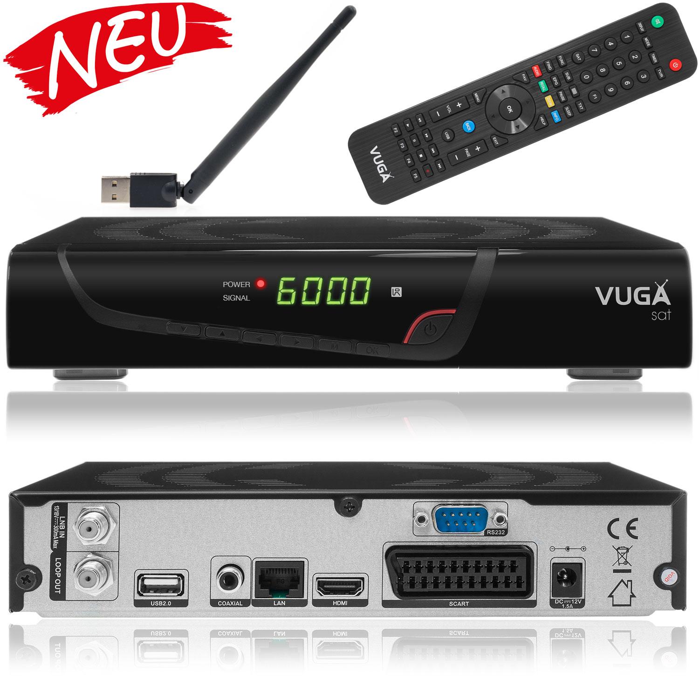 VIARK/VUGA sat - DVB-S Sat Receiver