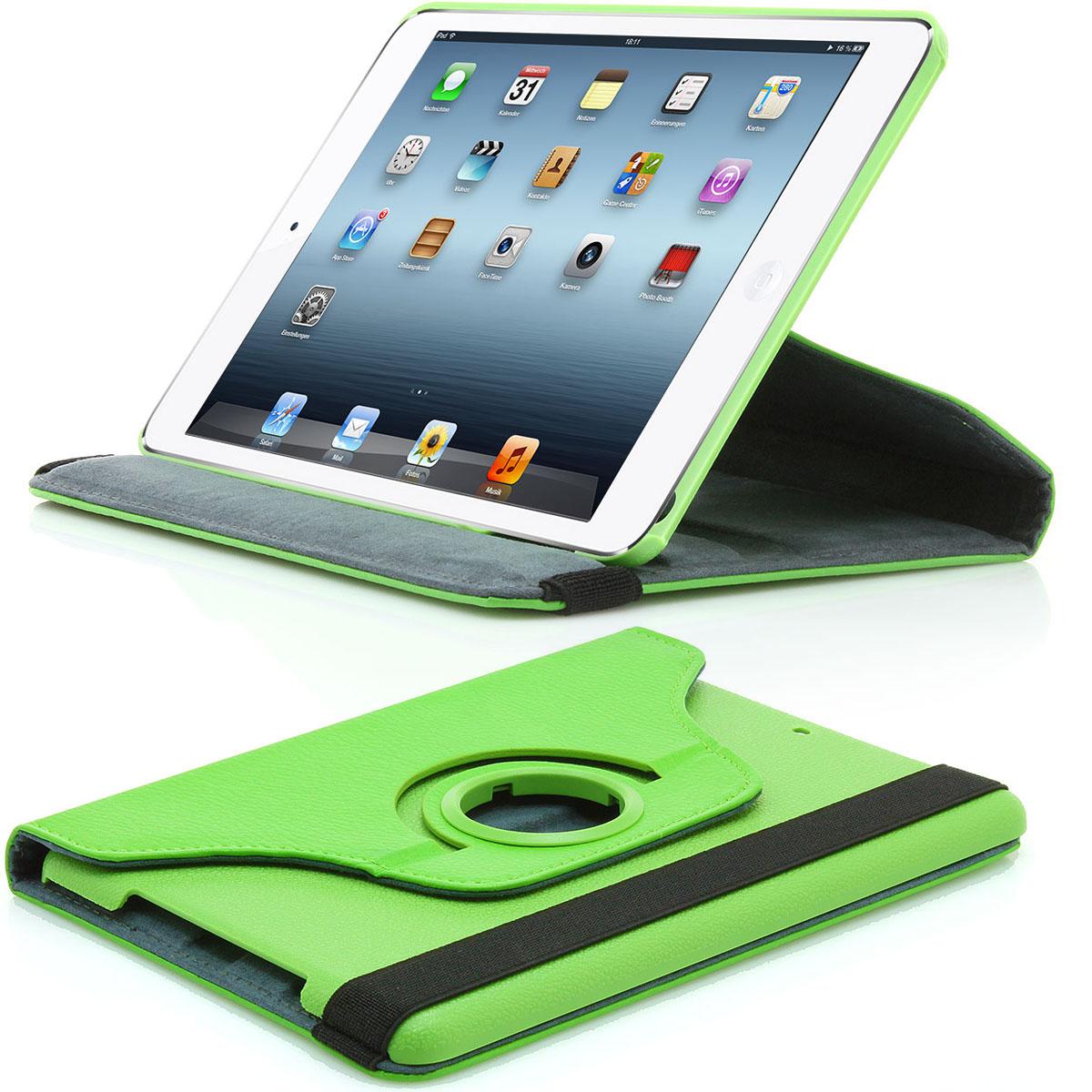 XAiOX iPad Mini Tasche 360° drehbar - grün