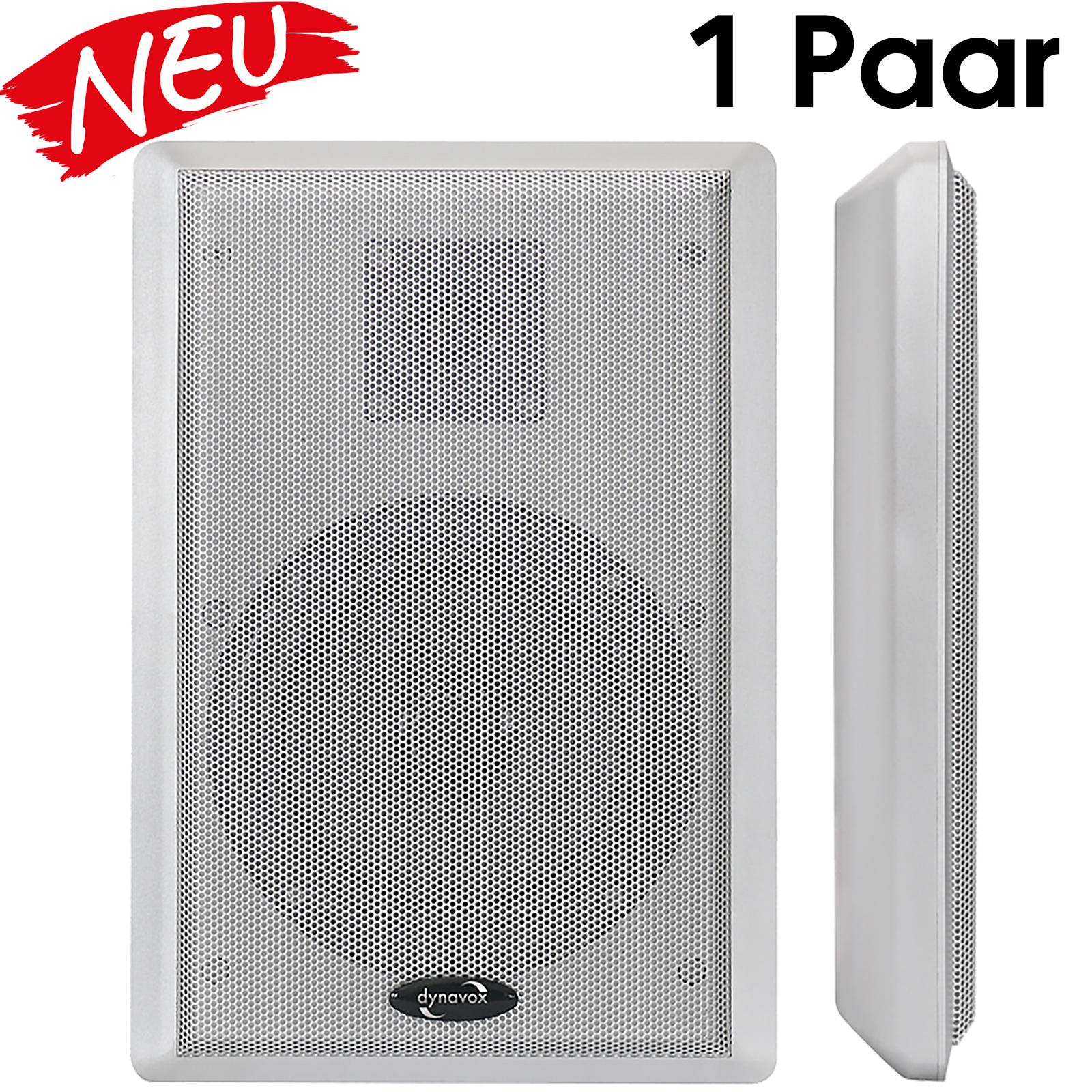 Dynavox WS-502 Flatpanelspeaker Lautsprecher SILBER