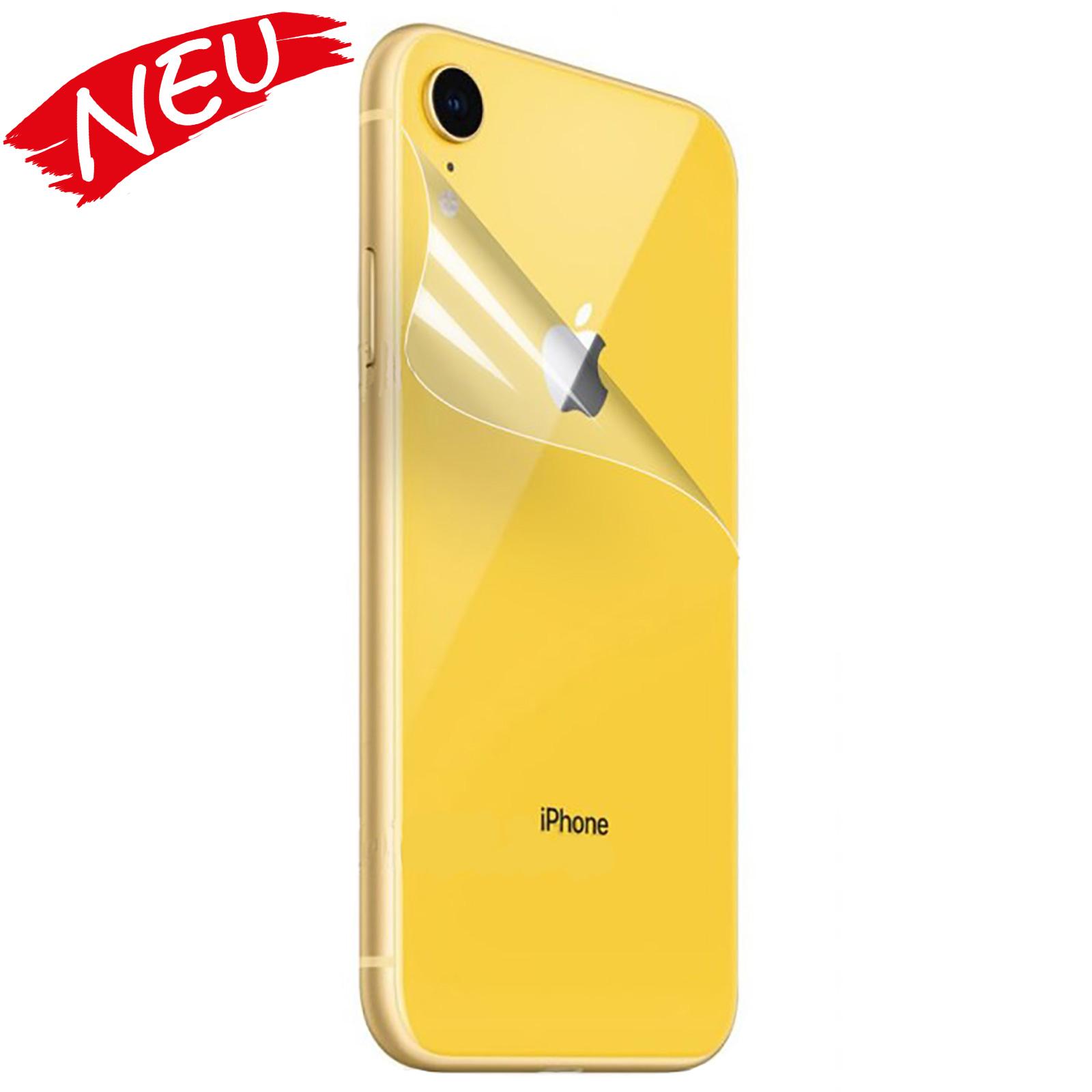 Apple iPhone XR - Schutzfolie Rückseite - klar