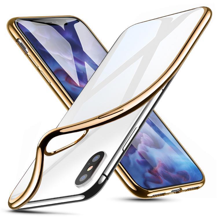 Apple iPhone Xs Max Premium TPU Schutzhülle – gold