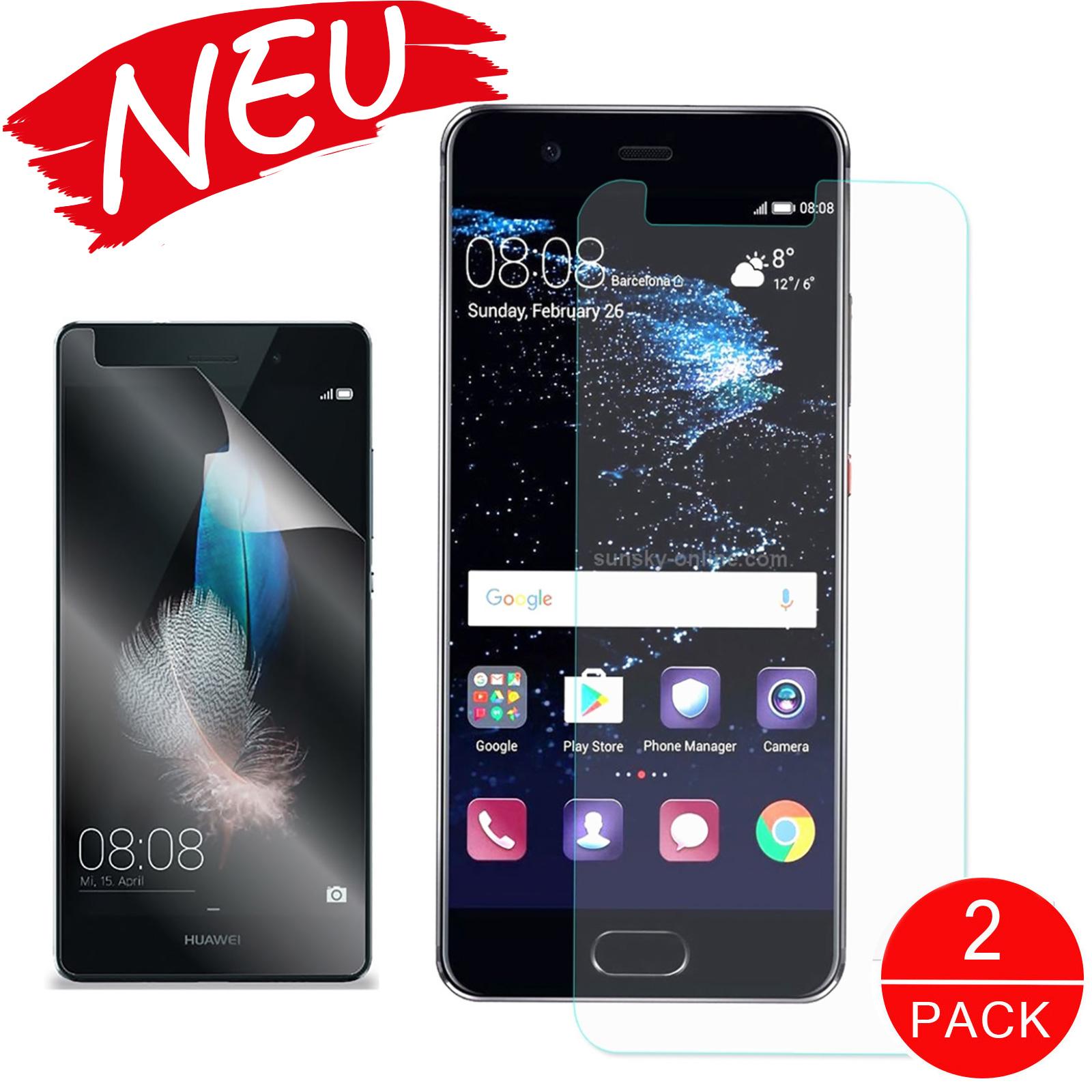 2x Displayschutzfolie Huawei P10 Lite