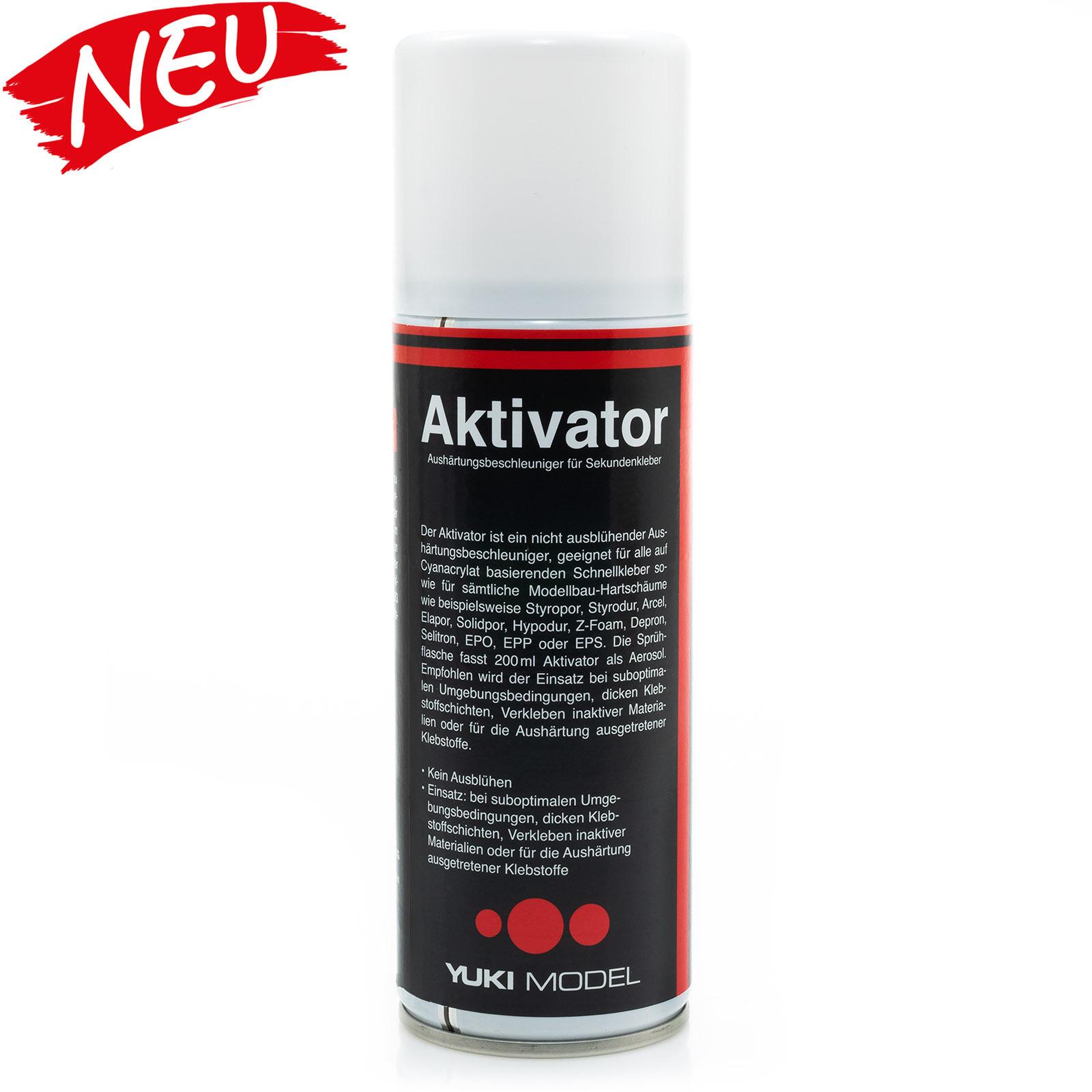 Aktivator Spray Sekundenkleber für Cyanacrylat 100ml Spraydose