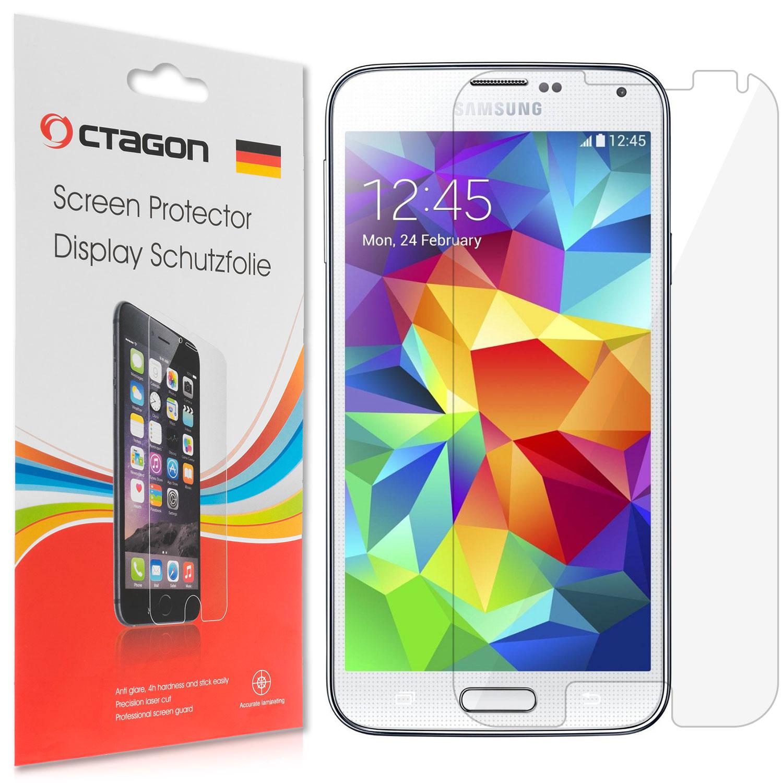 1x OCTAGON Display Schutzfolie für Samsung Galaxy S5 KLAR